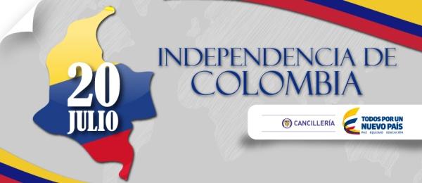 Consulado de Colombia en Tokio celebrará los 205 años de la Independencia