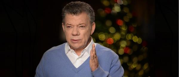 Saludo de fin de año del Presidente Juan Manuel Santos a los connacionales