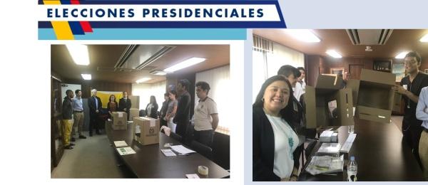 Hoy domingo 17 de junio culmina la  jornada electoral presidencial de segunda vuelta en el Consulado de Colombia en Tokio