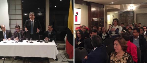 Consulado de Colombia en Tokio realizó el primer encuentro consular comunitario en Japón